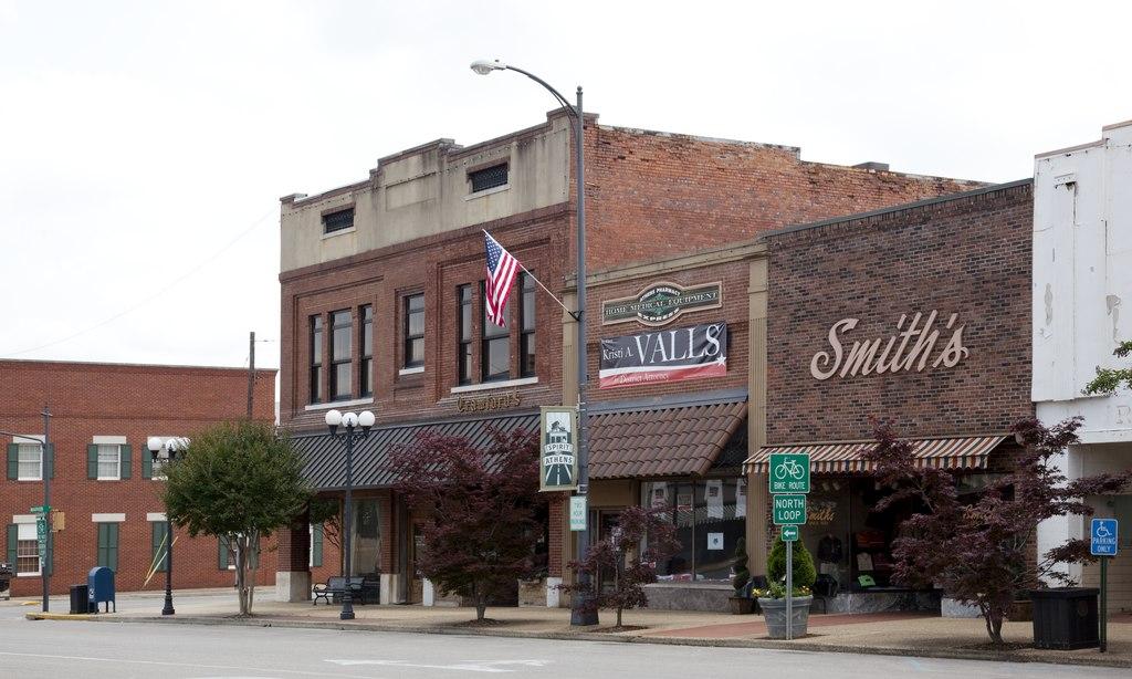 Athens Alabama downtown