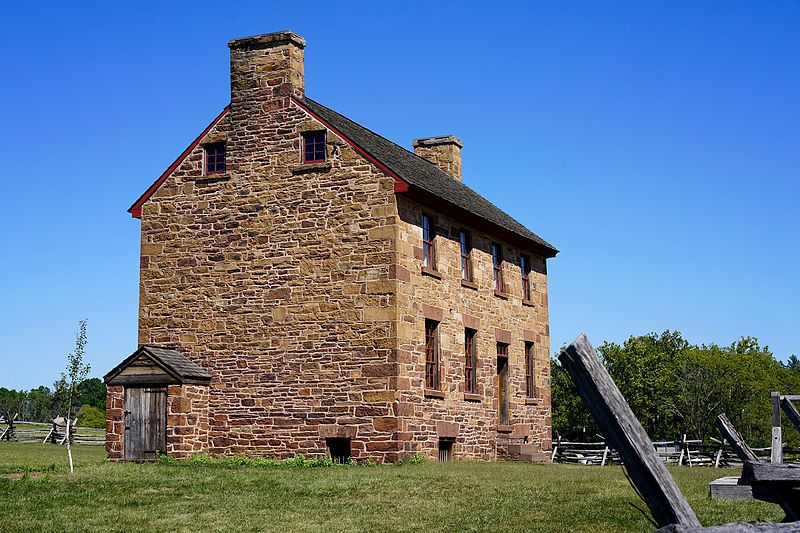 Old Stone House Manassas Battlefield Virginia