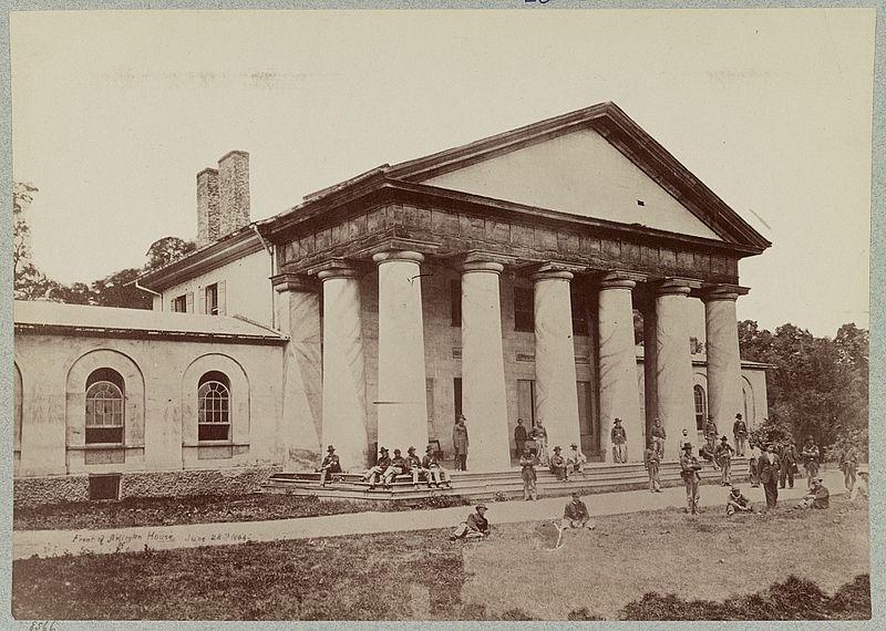 Arlington Mansion Virginia