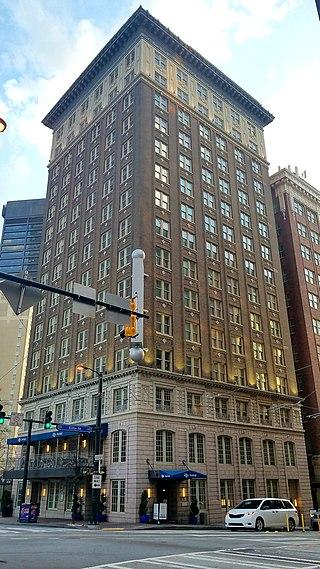 Ellis Hotel Winecoff Atlanta Georgia