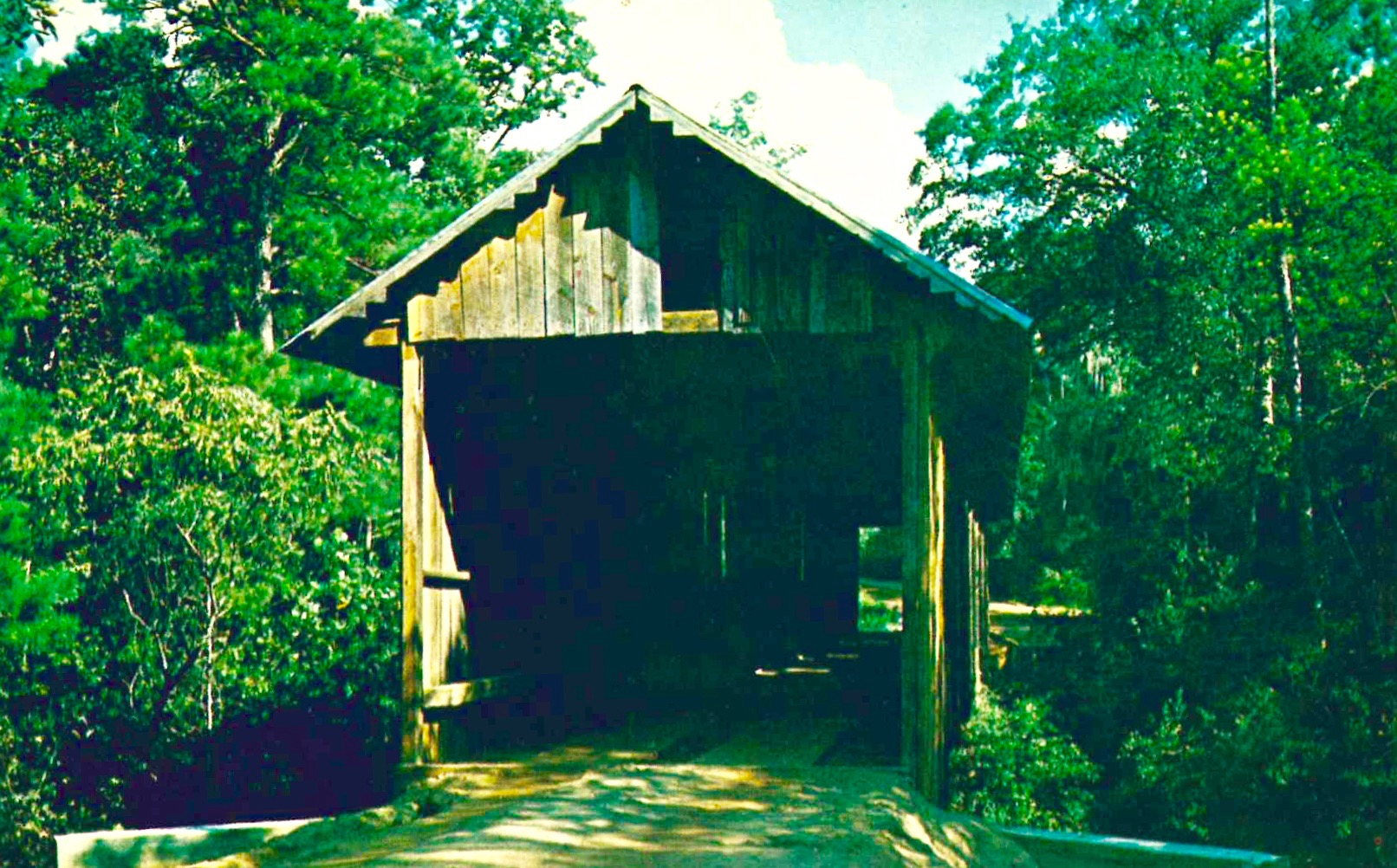 Coheelee Covered Bridge Blakely Georgia