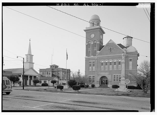 Bibb County Courthouse and Jail Centreville Alabama