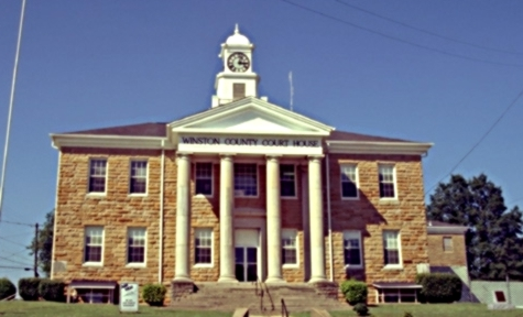Winston County Courthouse Double Springs Alabama